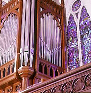 Organ case-Epistle side